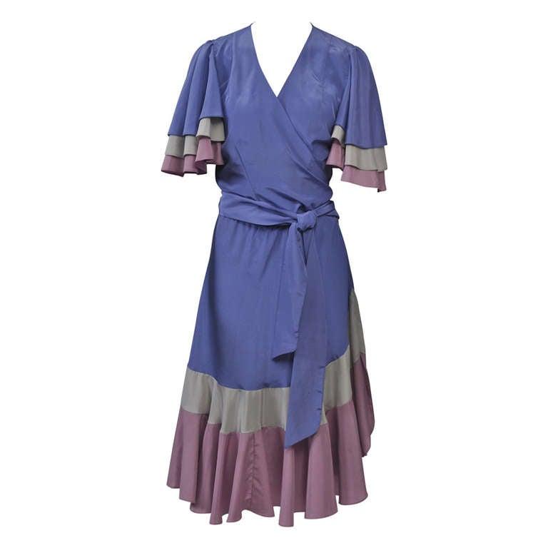 Valerie Porr Two-Piece Wrap Dress