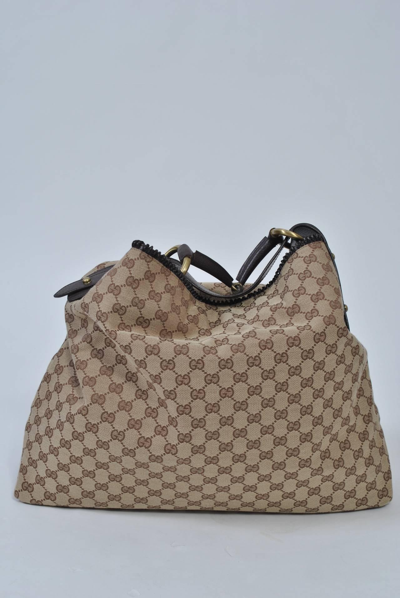 ff00aafd07b2 Gucci Xl Horsebit Hobo Handbag - Handbag Photos Eleventyone.Org