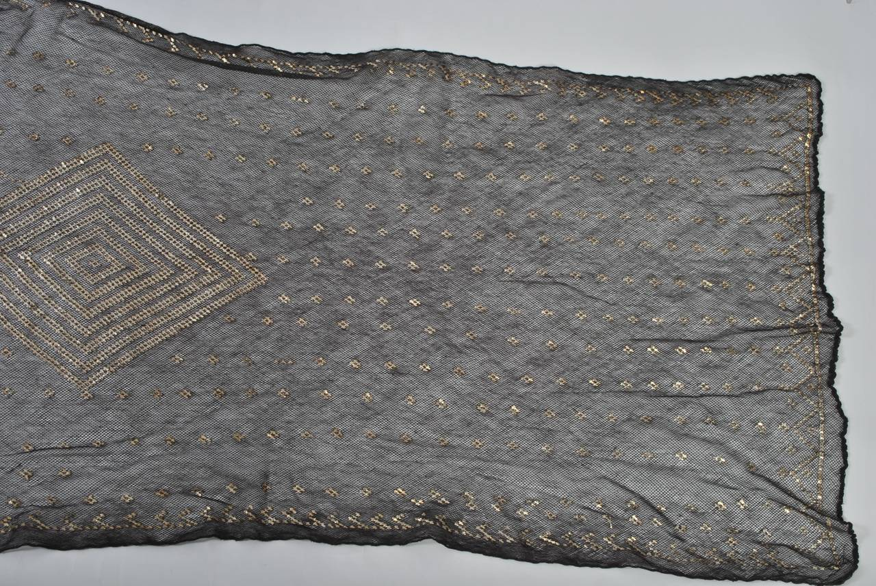 Art Deco Assuit Shawl For Sale 1