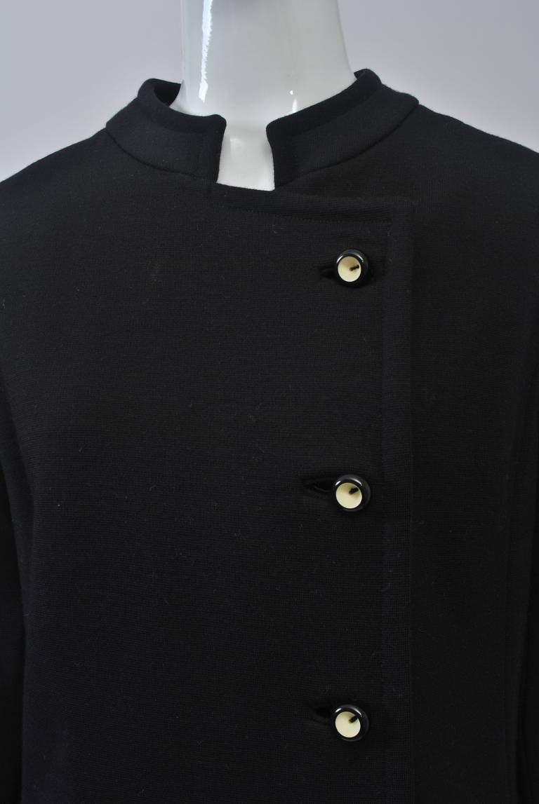 Mam'selle Black Knit Coat 3