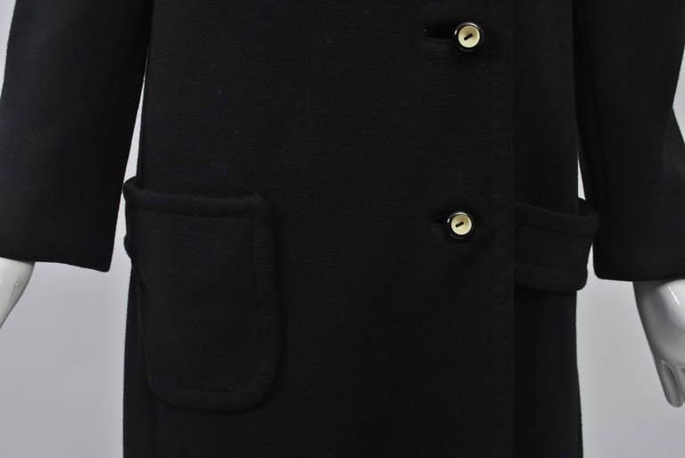 Mam'selle Black Knit Coat 4