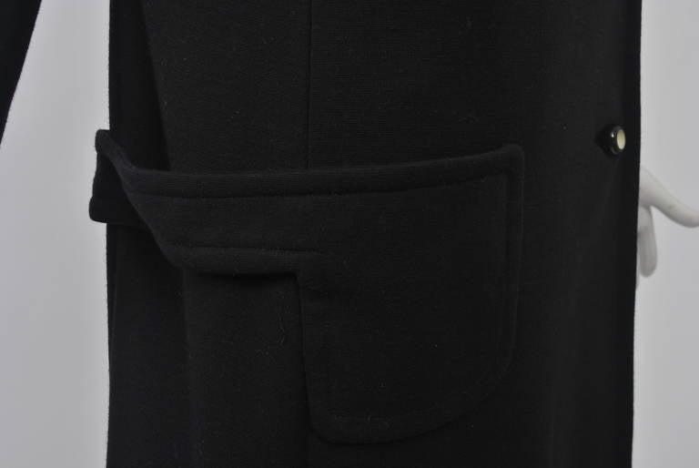 Mam'selle Black Knit Coat 5