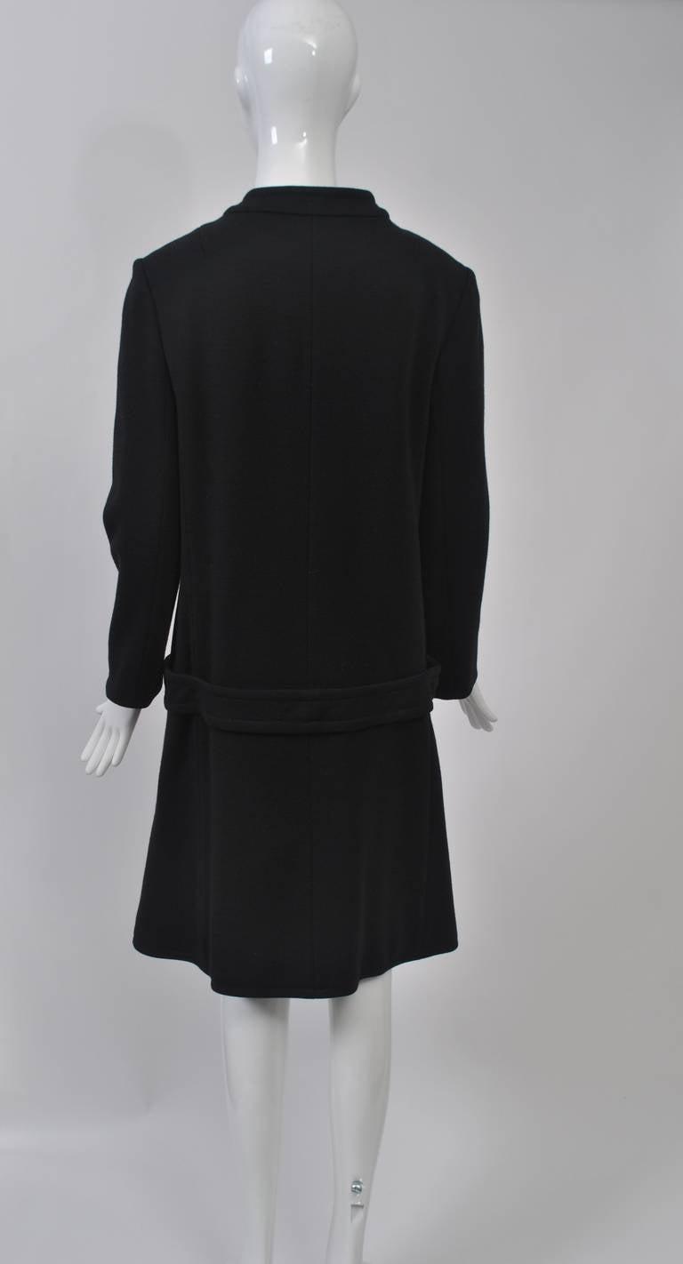 Mam'selle Black Knit Coat 6