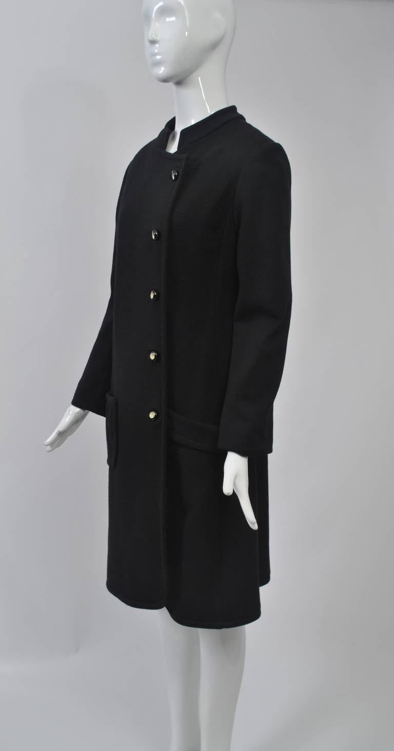 Mam'selle Black Knit Coat 7