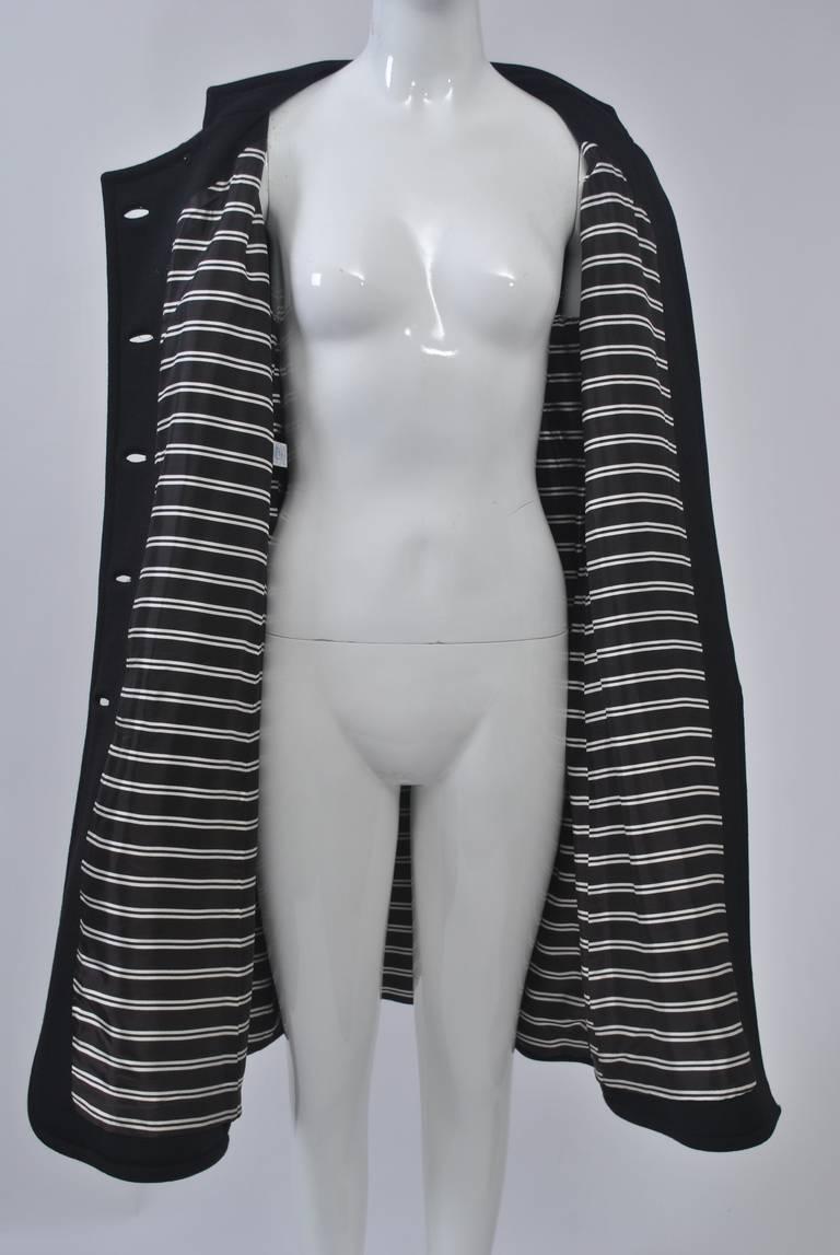 Mam'selle Black Knit Coat 8