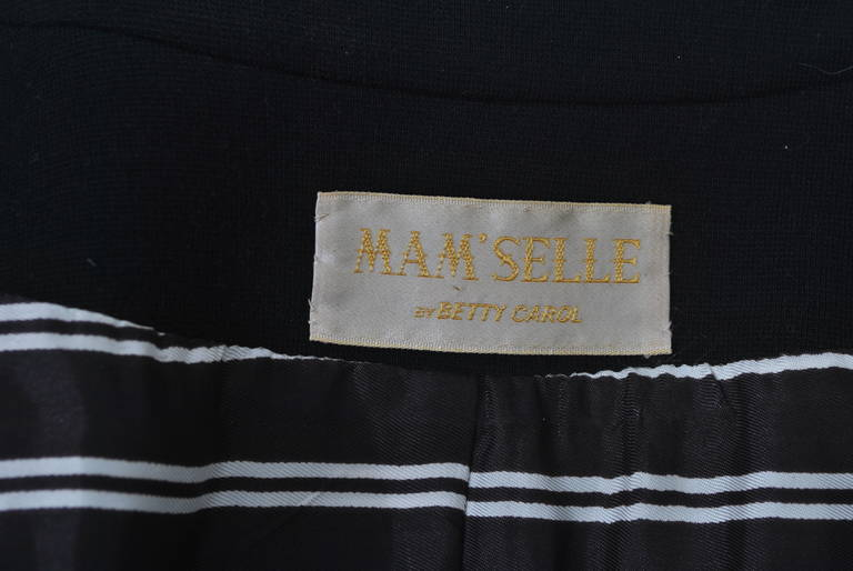 Mam'selle Black Knit Coat 9