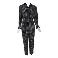 Valentino Polka Dot Pants Outfit