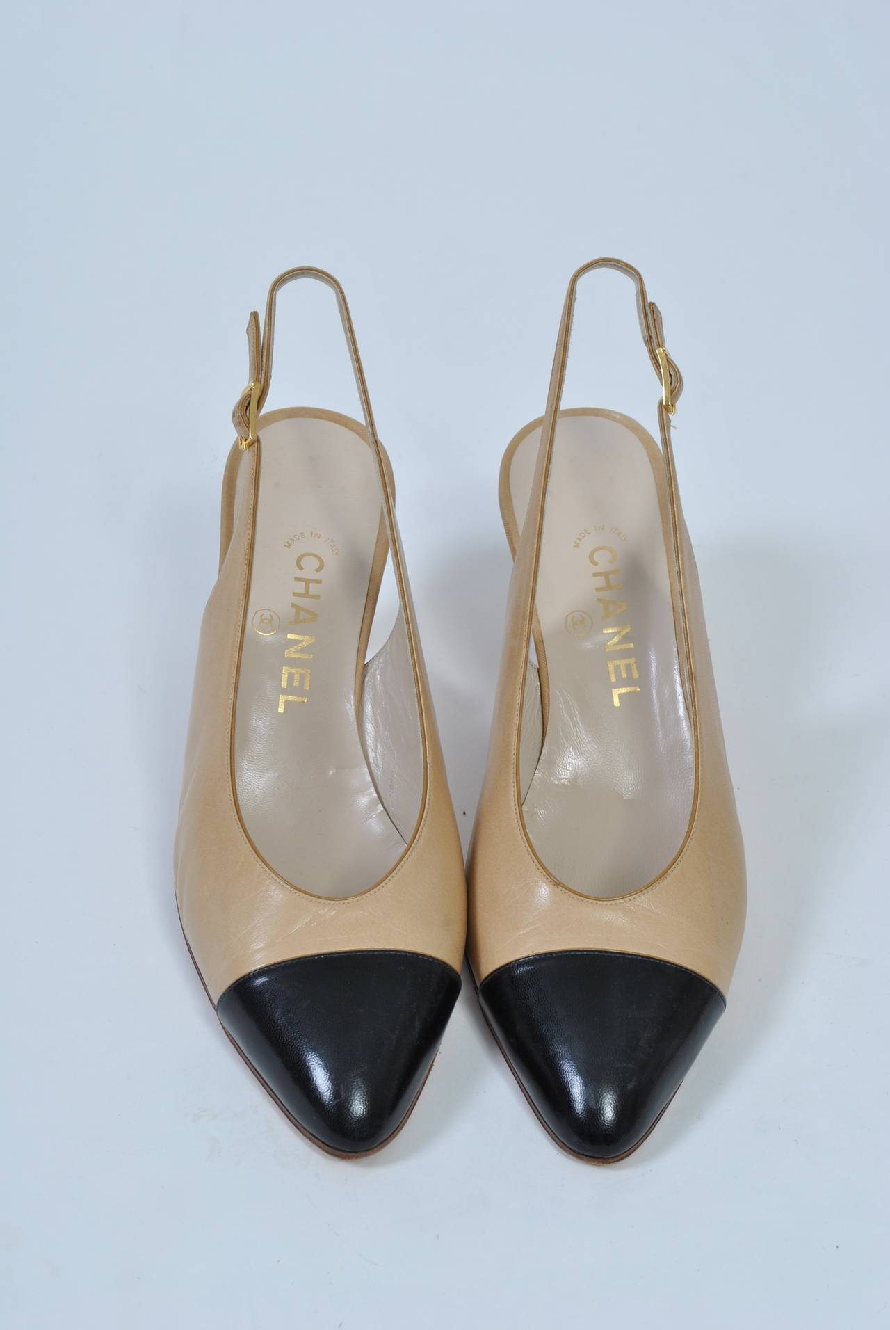 Women's Chanel Classic Slingbacks For Sale