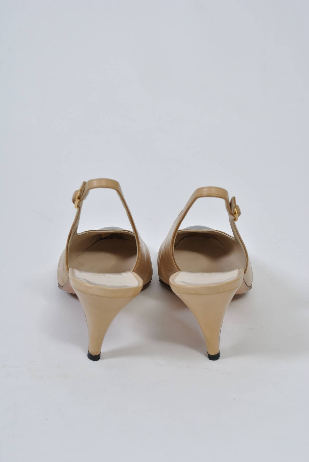 Chanel Classic Slingbacks For Sale 2