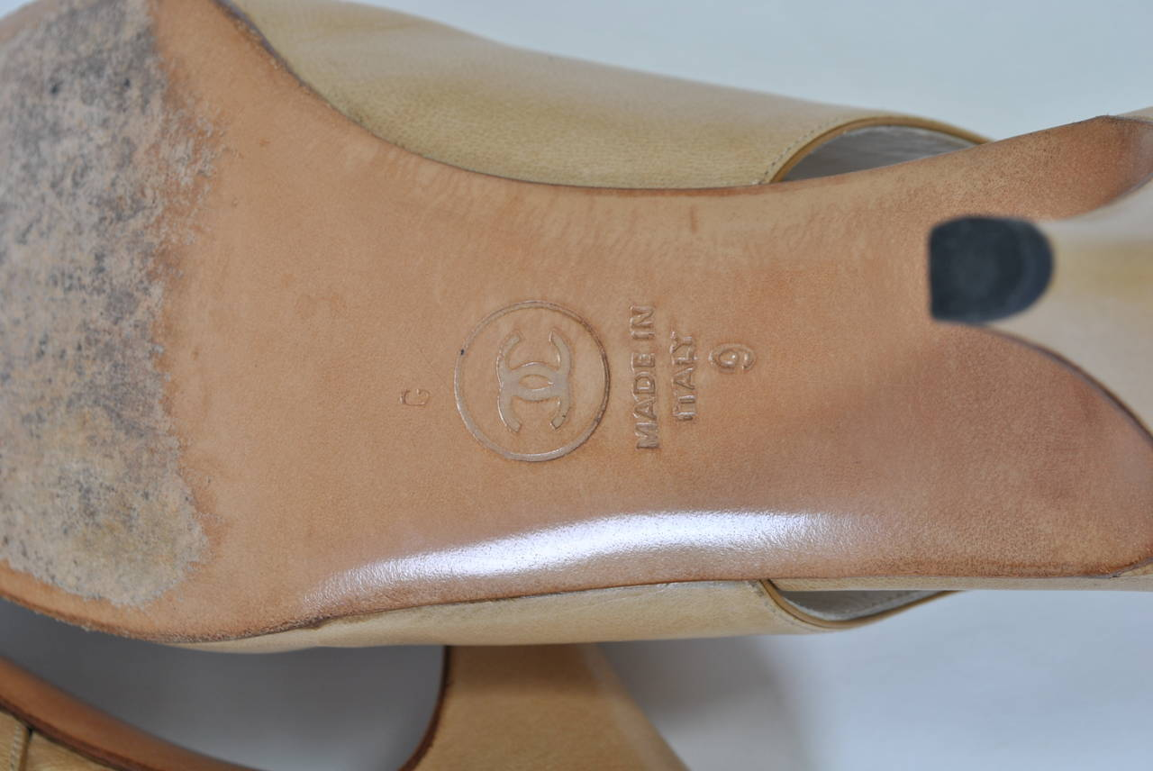 Chanel Classic Slingbacks For Sale 4