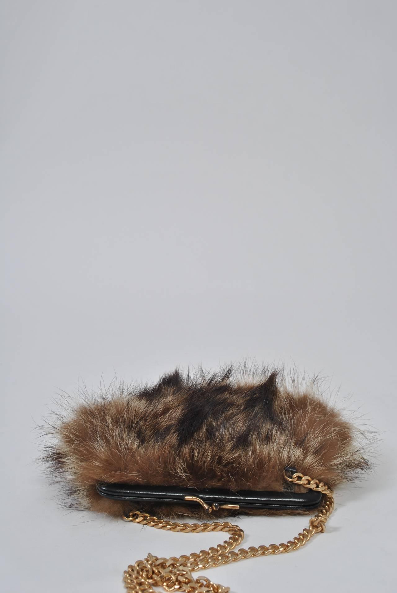 Fur Shoulder Bag 5