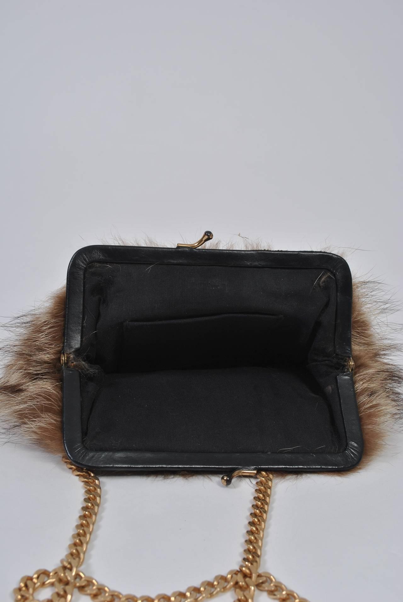 Fur Shoulder Bag 7