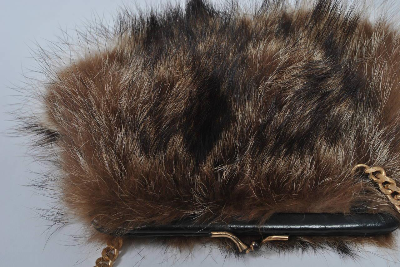 Fur Shoulder Bag 6