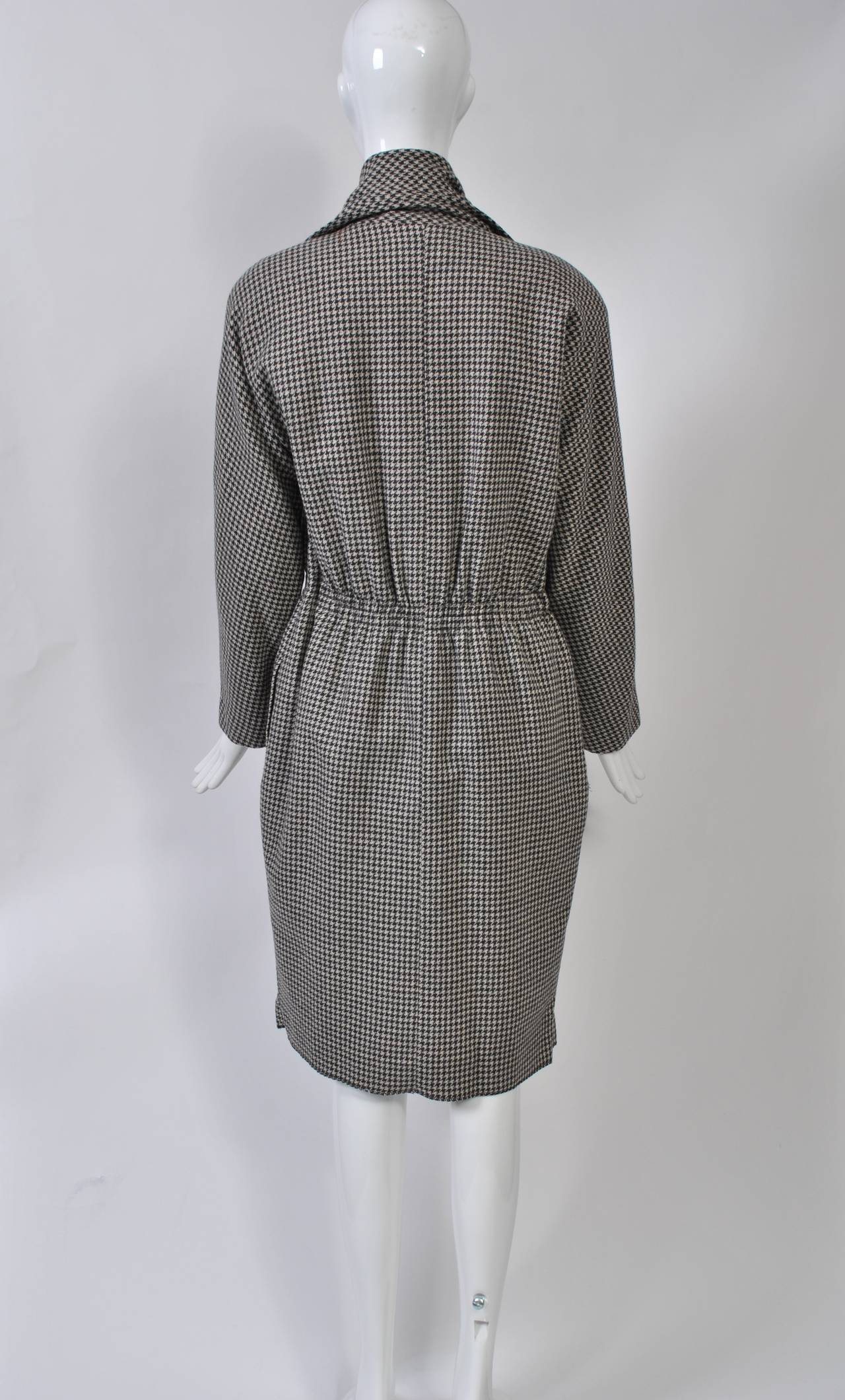 Tiktiner 1980s Coatdress In Excellent Condition For Sale In Alford, MA