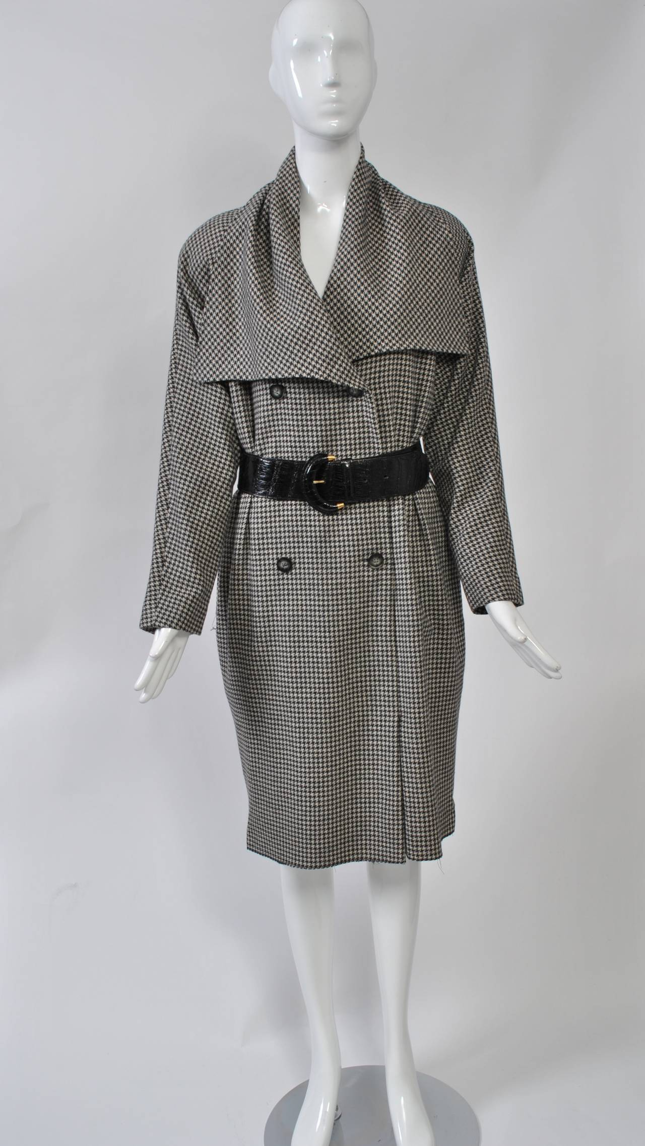 Tiktiner 1980s Coatdress For Sale 1