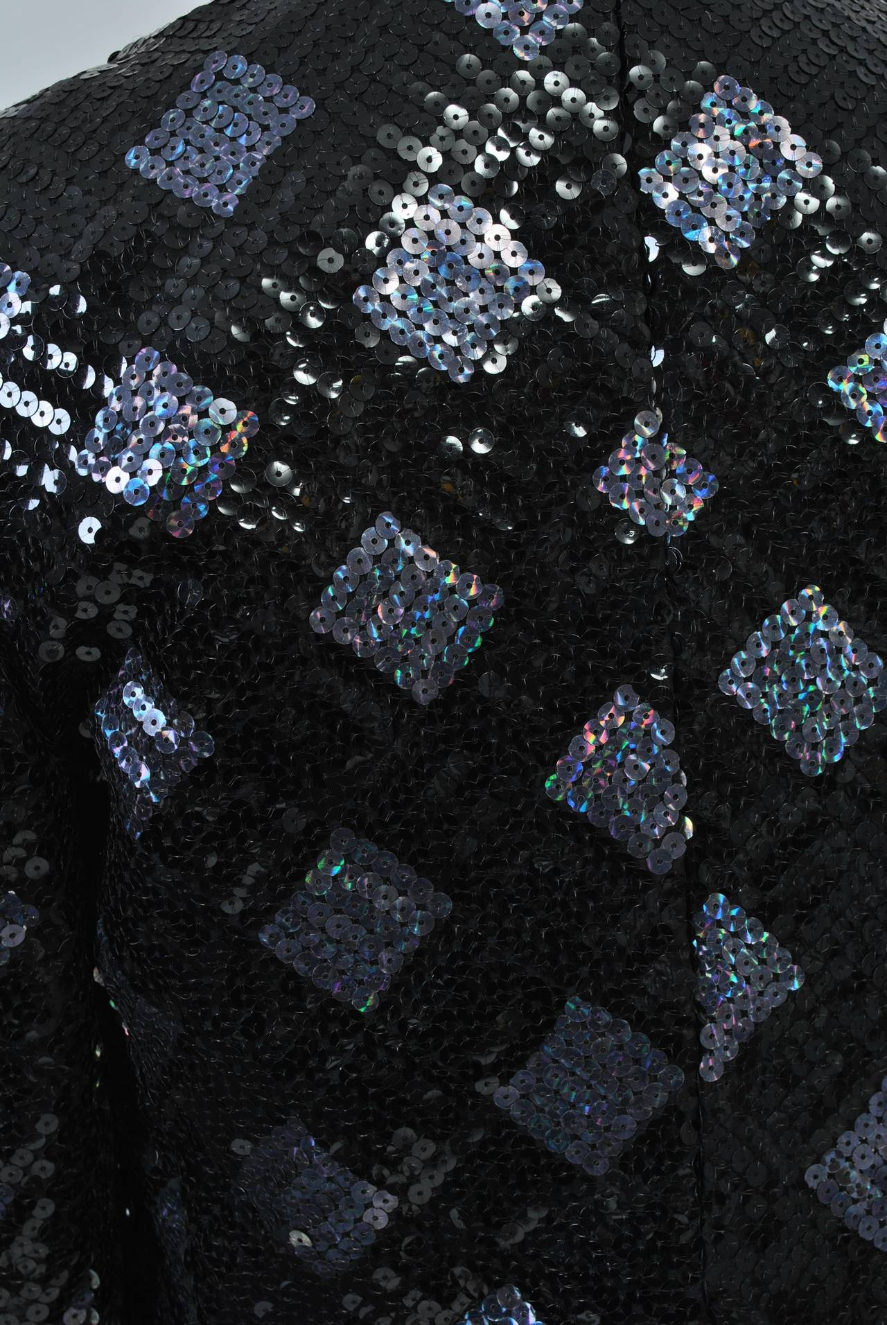 Adolfo Sequin and Lame Suit For Sale 2