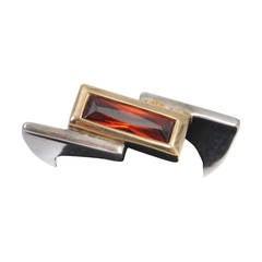 Modernist Sterling Ring