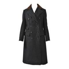 Bill Blass Pinstripe Coat Suit