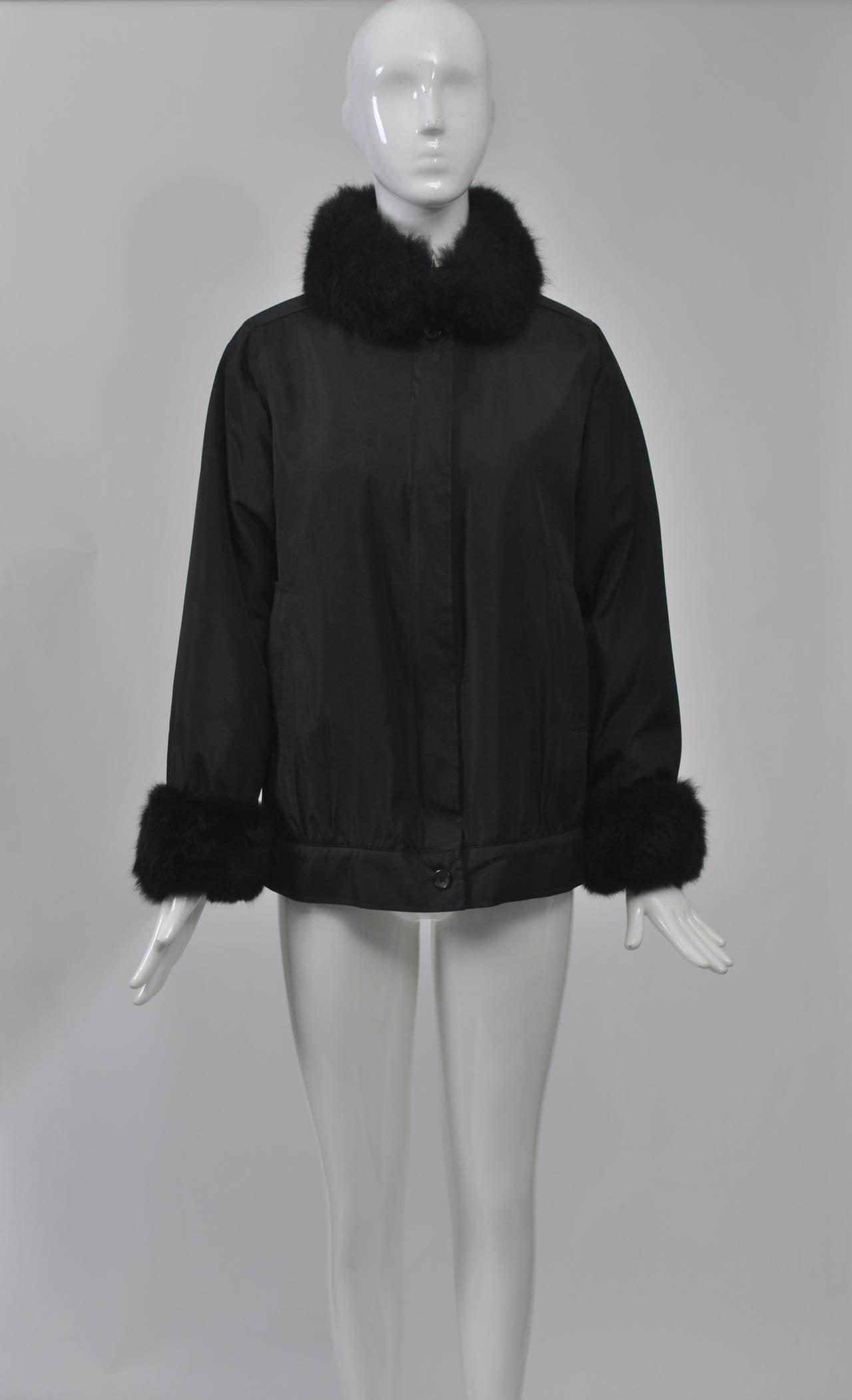 Bonnie Cashin All Weather Jacket W Fur For Sale At 1stdibs