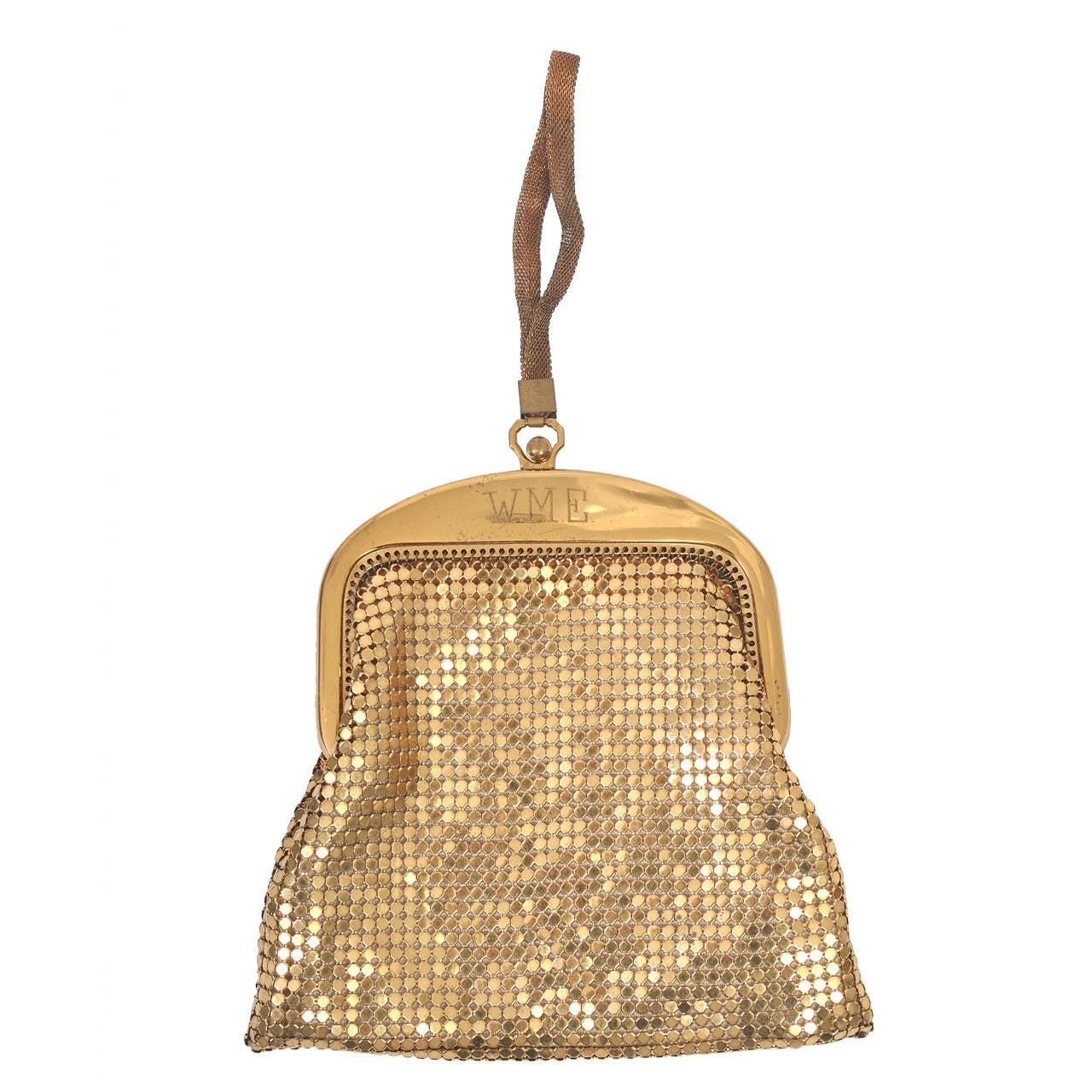 Whiting & Davis Gold Mesh Bag