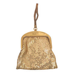 Whiting & Davis Gold Mesh Bag