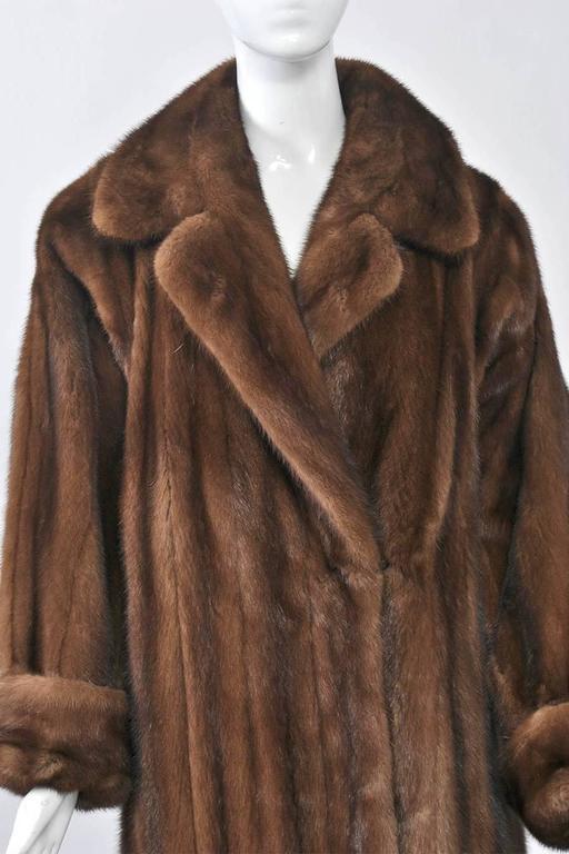 1980s Mink Coat For Sale At 1stdibs