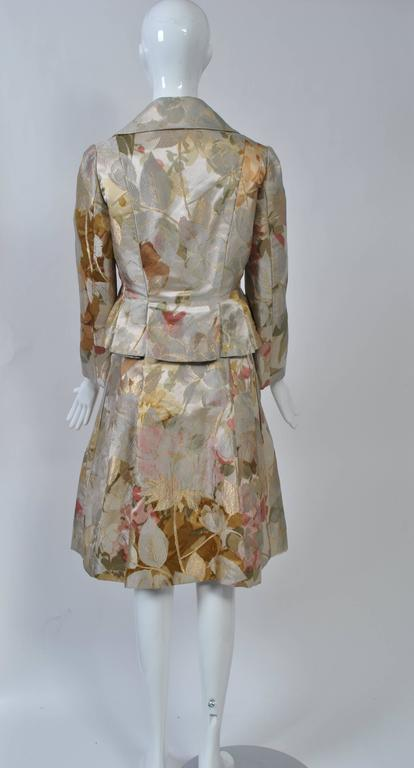 Women's Ronald Amey Brocade Ensemble For Sale