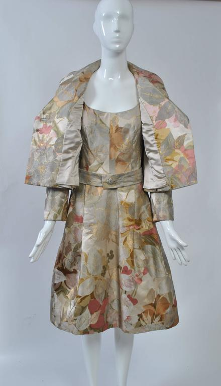 Ronald Amey Brocade Ensemble For Sale 1
