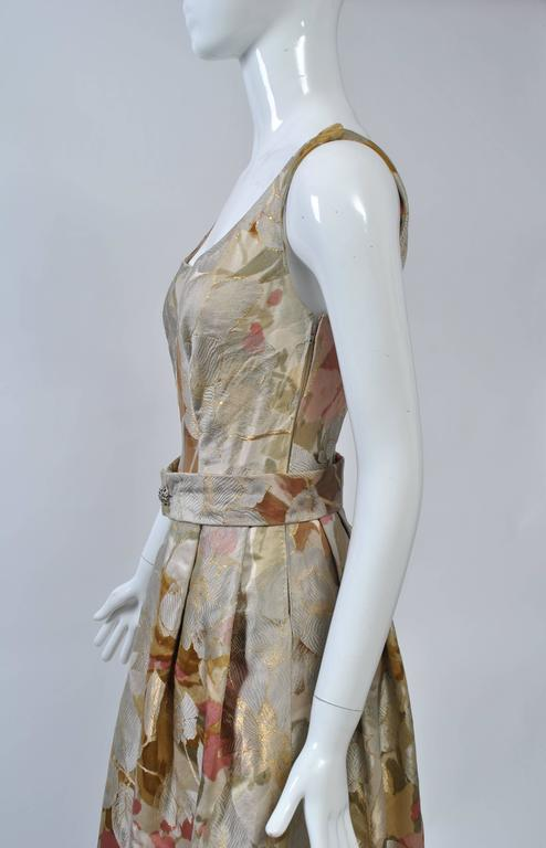 Ronald Amey Brocade Ensemble For Sale 4