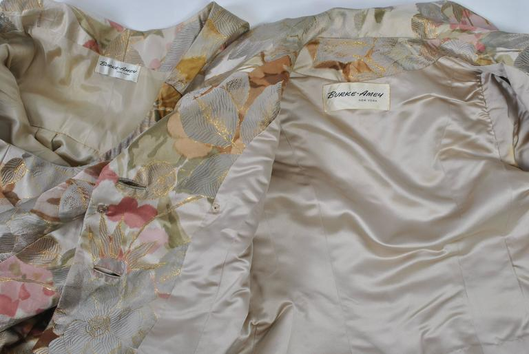 Ronald Amey Brocade Ensemble For Sale 5