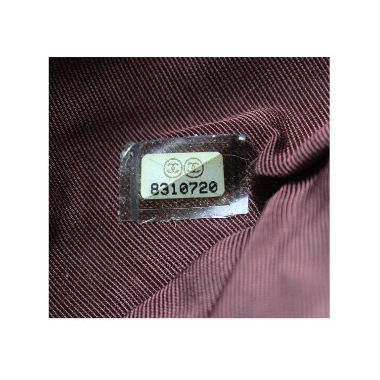 Chanel Limited Edition Pastel Multicolor Satin Drawstring Tassel Bag Purse For Sale 5