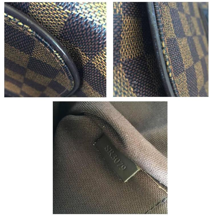 fae53f6fb8a7 Louis Vuitton Brooklyn MM Damier Ebene Messenger Bag Discontinued For Sale 5