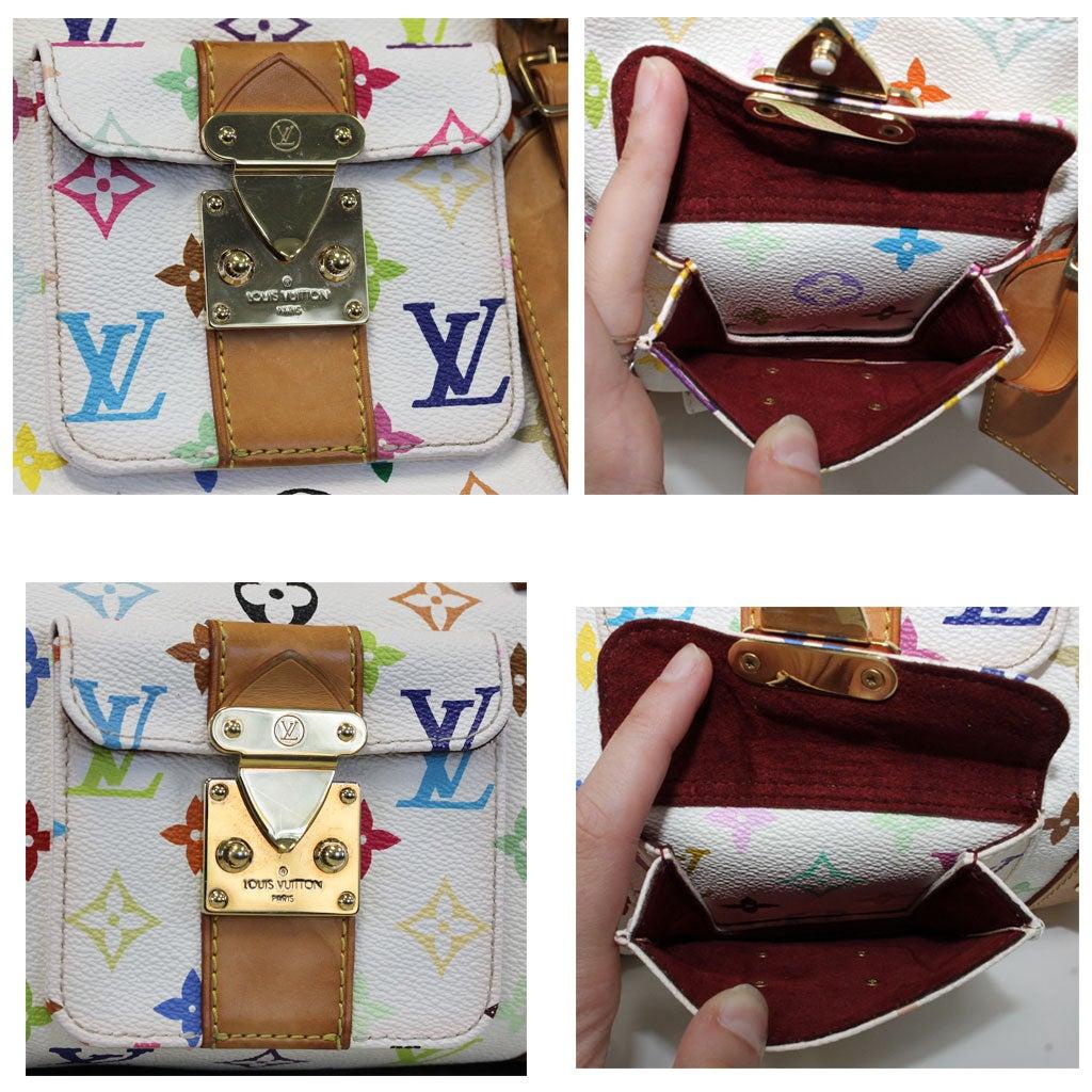 eaed7a5cdad Louis Vuitton Murakami Keepall 45 White Handbag Purse Travel Bag at 1stdibs