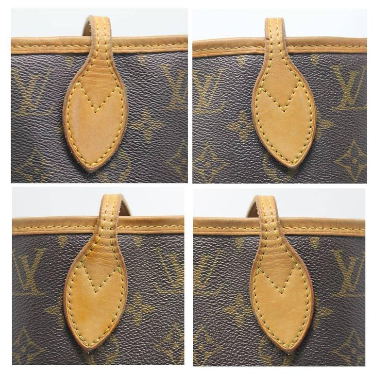 22cb8965ebc1 Black Louis Vuitton Neverfull MM Monogram Tote Bag For Sale