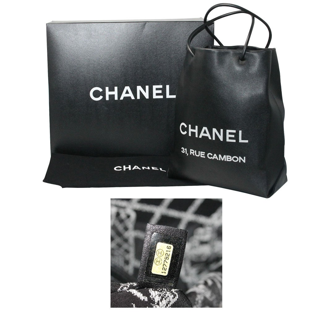 1a6d09f76531 Chanel Petit 31 Rue Cambon Black Leather Runway Tote Bag in Box No. 12 at  1stdibs