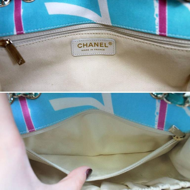 Chanel Eiffel Tower Classic Small Flap Bag Multicolor No. 10 6