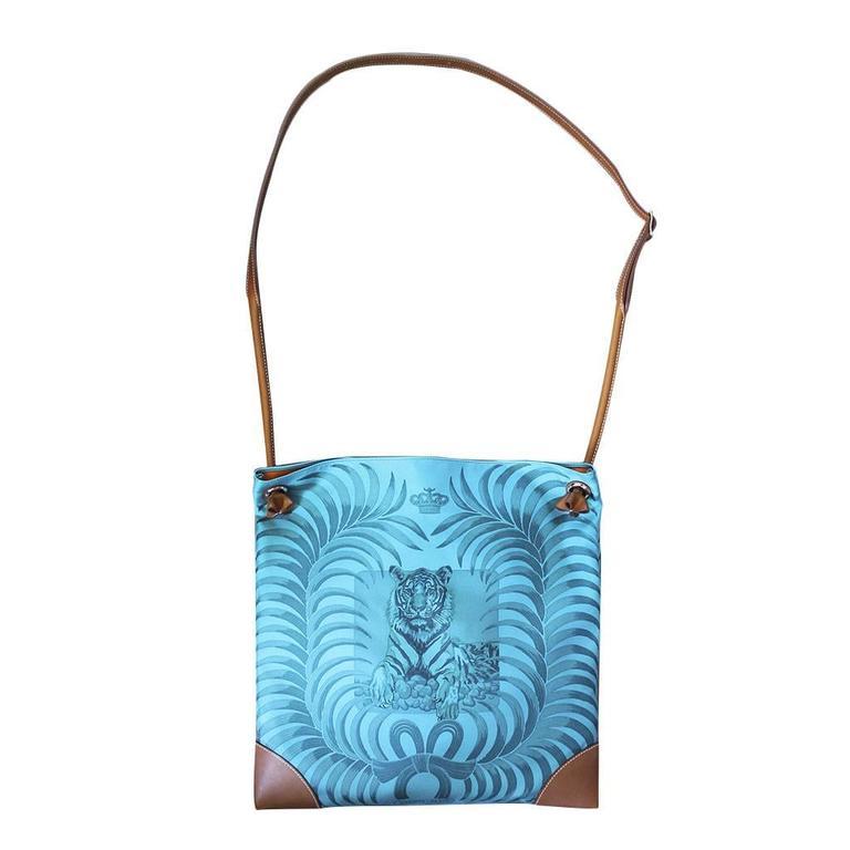 Brand: Hermes Handles: Brown Leather Adjustable Shoulder Strap Drop: 12
