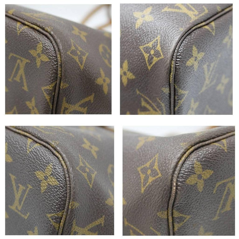 Louis Vuitton Neverfull MM Monogram Canvas Tote Bag In Good Condition For Sale In Boca Raton, FL