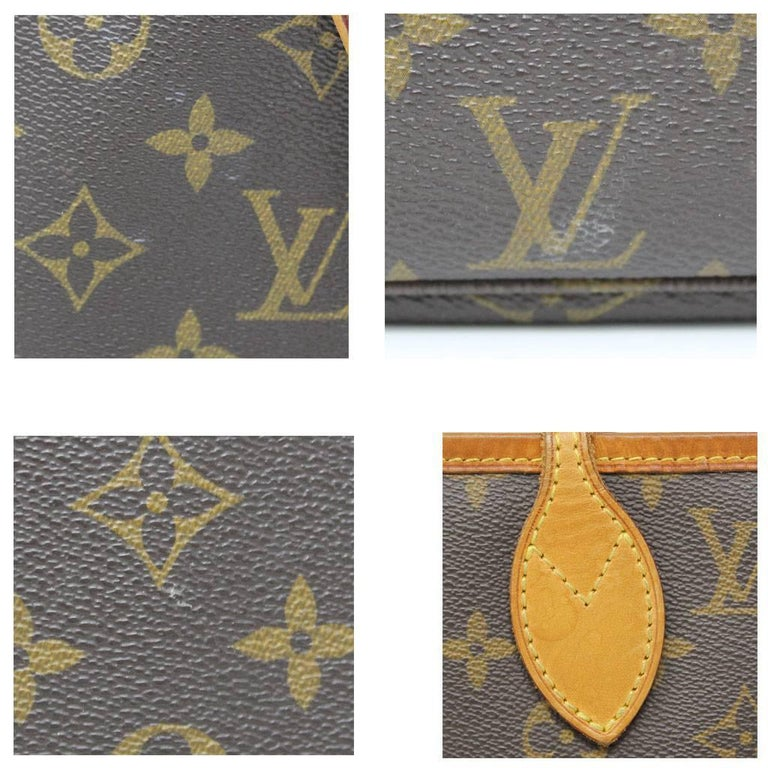 Louis Vuitton Neverfull MM Monogram Canvas Tote Bag For Sale 1