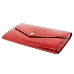 Louis Vuitton Sarah Cerises Wallet in Dust Bag with Receipt
