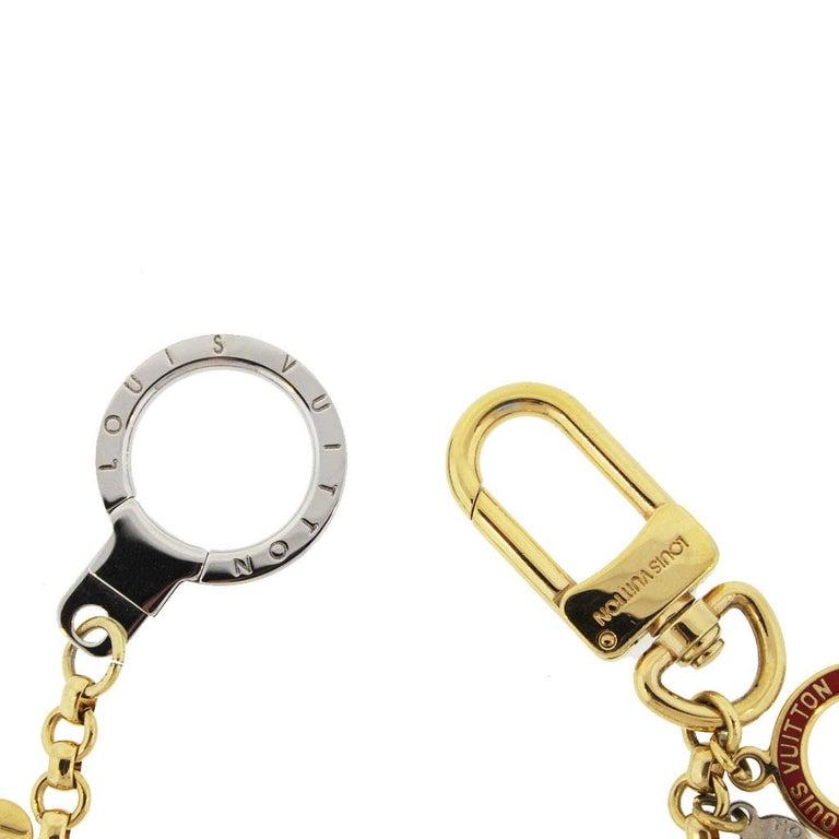 Brand: Louis Vuitton Style: Key Chain Color: Multicolor Length: 9.5
