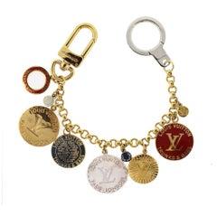 Louis Vuitton Trunks & Bags Multi Color Coin Key Chain