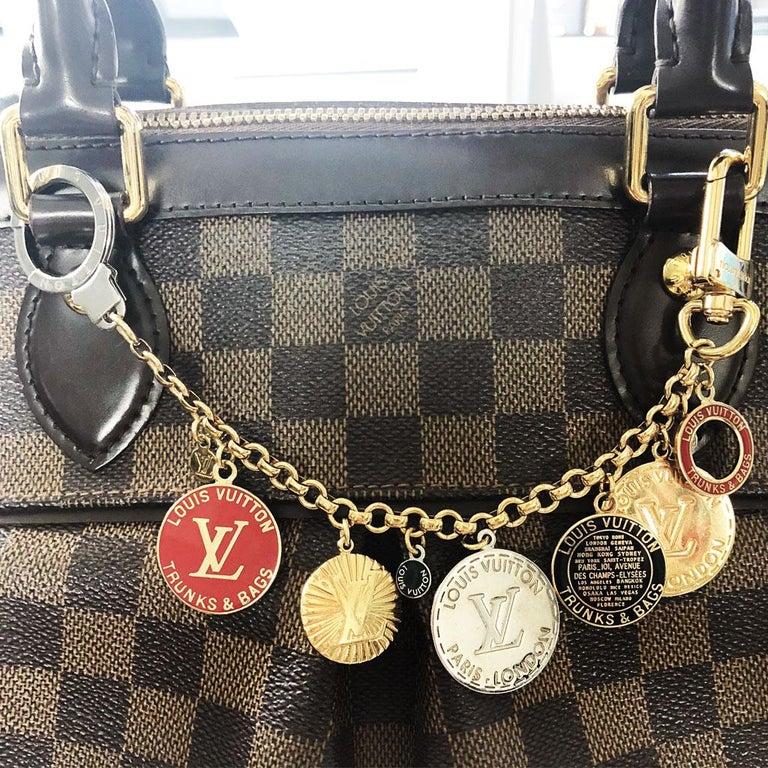 Women's or Men's Louis Vuitton Trunks & Bags Multi Color Coin Key Chain