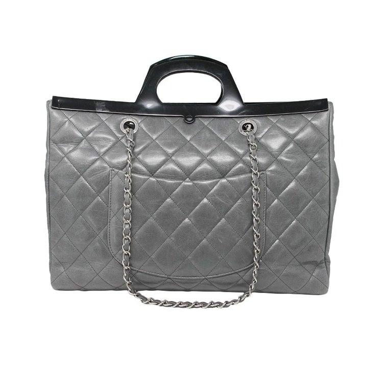 Brand: Chanel Handles: Black Resin Handles, Drop: 2