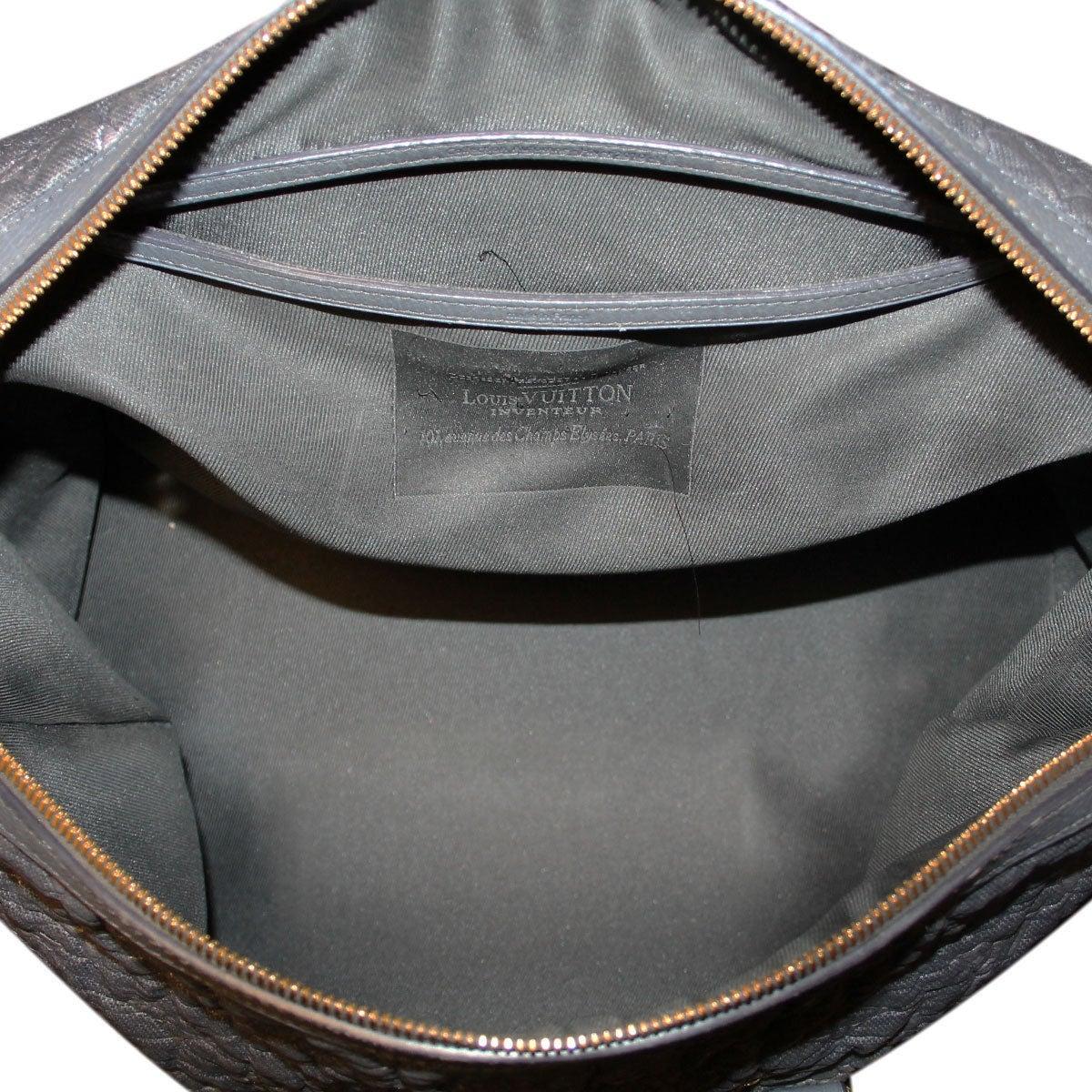 Women's Louis Vuitton Volupte Psyche Leather Gris Bag Purse For Sale