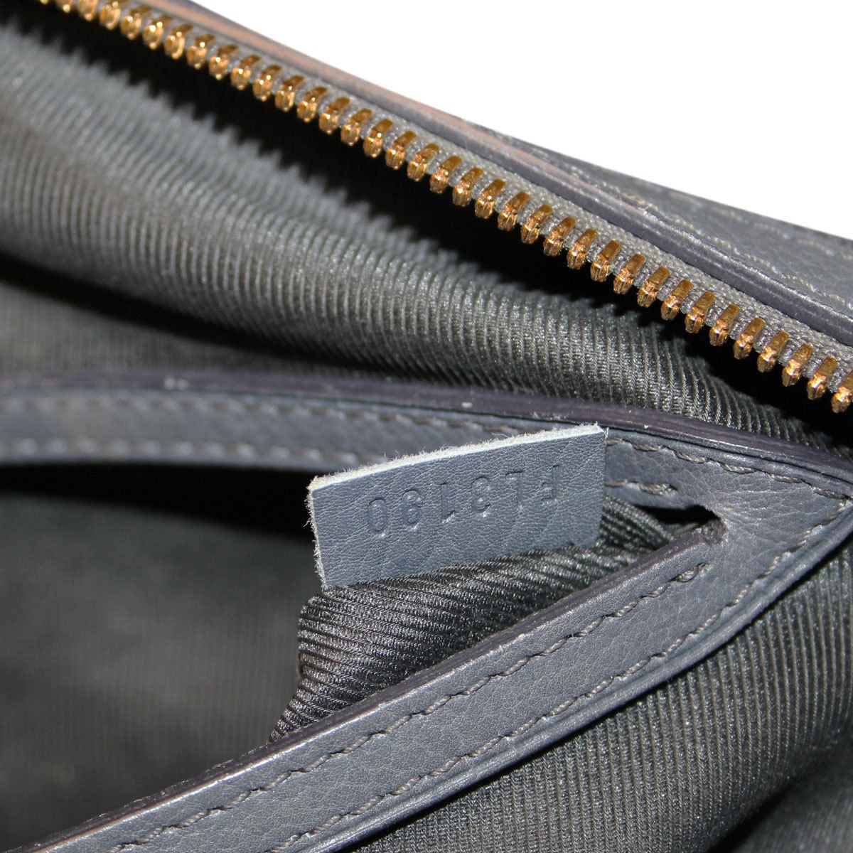 Louis Vuitton Volupte Psyche Leather Gris Bag Purse For Sale 5