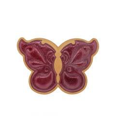 Louis Vuitton Butterfly Conte De Fees Monogram Vernis Magenta Cross Body Purse