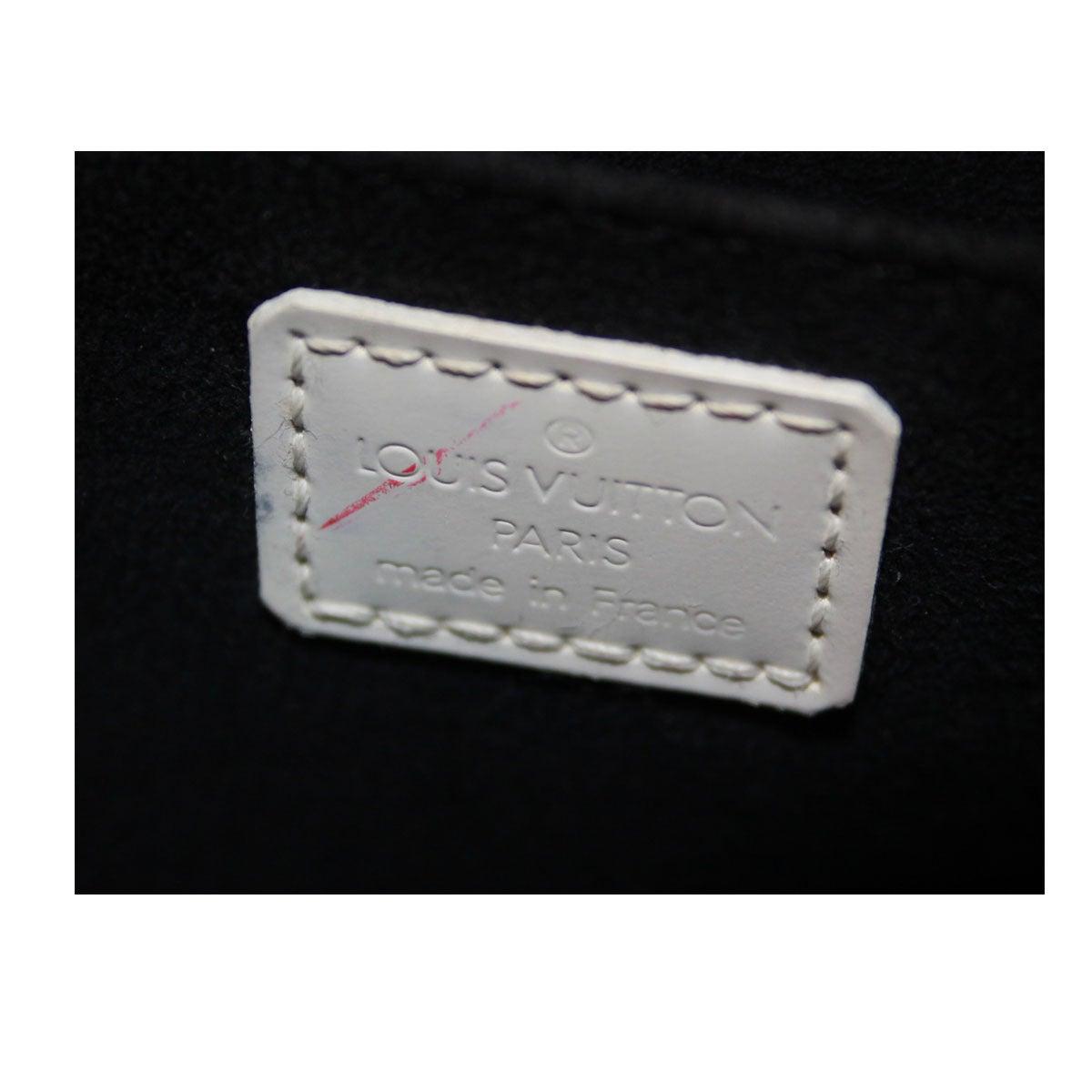 870872d77b6 Louis Vuitton Graffiti Alma PM Ivory and Black Handbag at 1stdibs