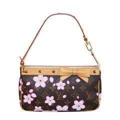 Louis Vuitton Cherry Blossom Pochette Monogram Bag Purse