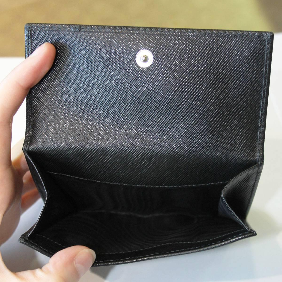 small prada wallet